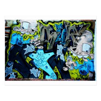Graffiti Art Postcard