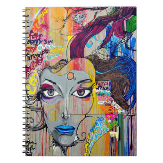 Graffiti Art Spiral Notebook