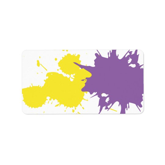 Graffiti Artist Print Your Own Invitation Label Address Label