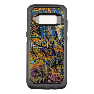 Graffiti Background OtterBox Commuter Samsung Galaxy S8 Case