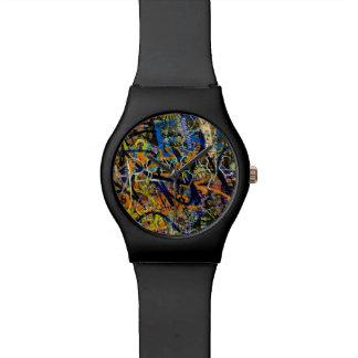 Graffiti Background Watch