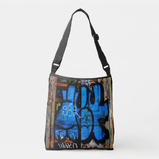 Graffiti bag. crossbody bag