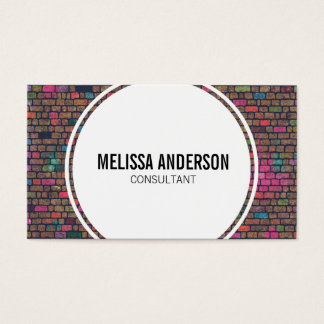 Graffiti Brick Wall Business Cards