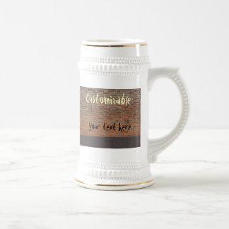 Graffiti Brick Wall Customizable Coffee Mug