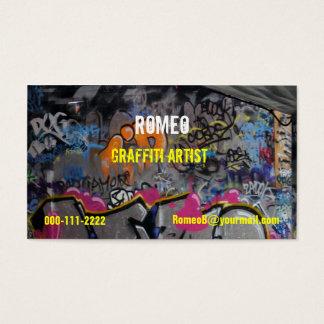 Graffiti Business Card