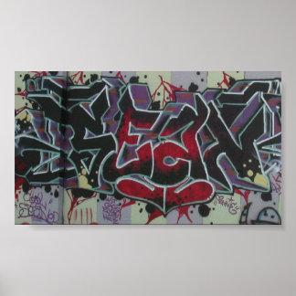 Graffiti by Sean *glowing ember* Poster