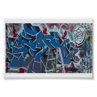 Graffiti by Sean *th' Blues* Poster