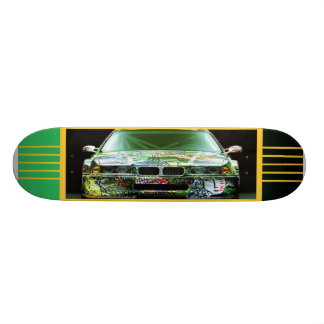 Graffiti Car Skateboard