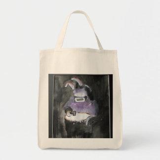 Graffiti/cartoon art  - Rabbit Welder Tote Bag