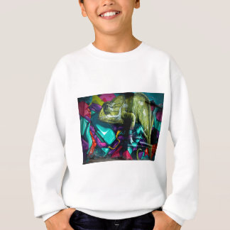 Graffiti Chameleon Sweatshirt