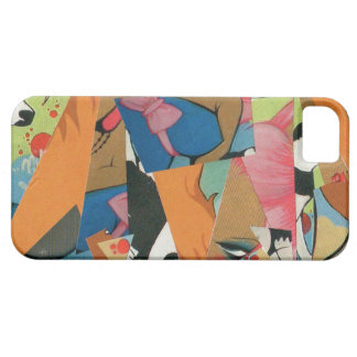 Graffiti cubist style phone cover