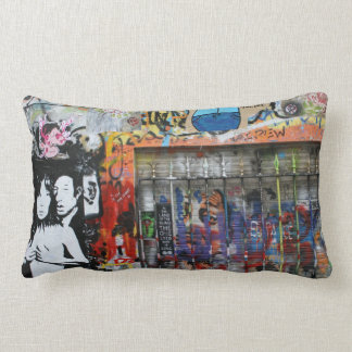 "Graffiti cushions ""Paris & Berlin"" ♥ Street kind"