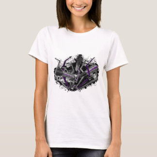 Graffiti Demisexual Lightning and Arrows T-Shirt
