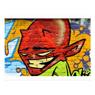 Graffiti Demon Postcard