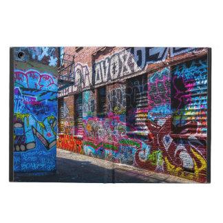 Graffiti-ed Buildings Design iPad Air Case