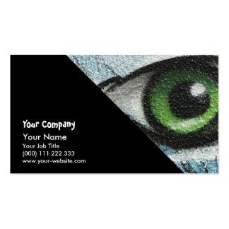 Graffiti Eye Business Card Template