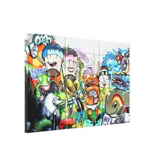 Graffiti Fun Canvas Print