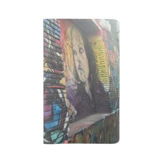 Graffiti Girl Notebook - Large