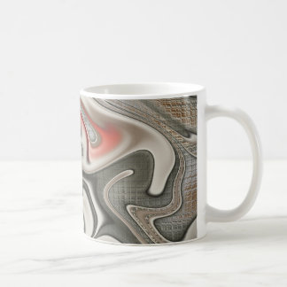 Graffiti Gnarly Fractal Basic White Mug