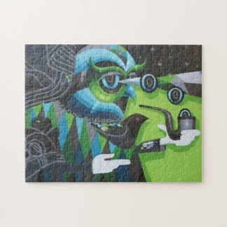 Graffiti Great Father Owl Puzzle with Gift Box