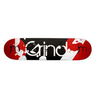 Graffiti Grind Monogram Skateboard