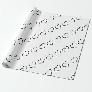 Graffiti heart Party Wrapping Paper