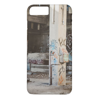 Graffiti in an abandoned factory iPhone 7 plus case