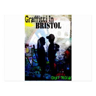 Graffiti In Bristol Postcard