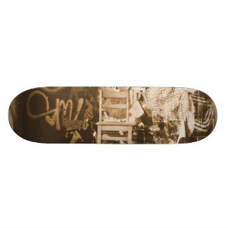 Graffiti in Brooklyn, New York City 21.6 Cm Skateboard Deck