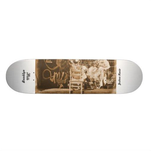Graffiti in Brooklyn NYC Skateboard Decks
