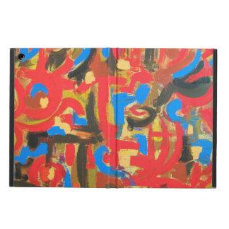 Graffiti In The Attic - Modern Art Handpainted Cover For iPad Air