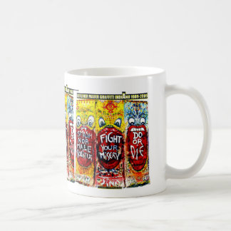 GRAFFITI INDIANO BERLIN WALL COFFEE MUG
