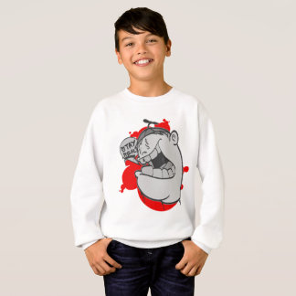 Graffiti Kids Swearshirt: Stay Real Hip Hop Sweatshirt