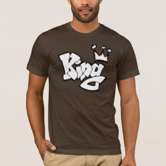 Graffiti King with Crown T-Shirt