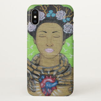 Graffiti Lady Houston iPhone X Case