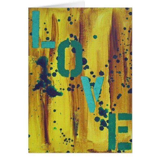 Graffiti Love 2 Card