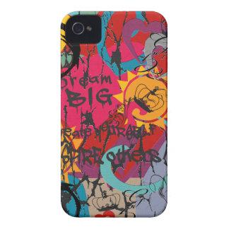 Graffiti Love iPhone 4 Case-Mate Case