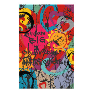 Graffiti Love Stationery