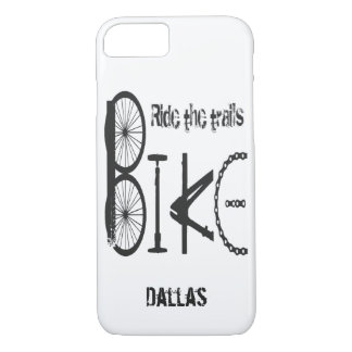 Graffiti made from Bike Parts with Tire Tracks iPhone 8/7 Case