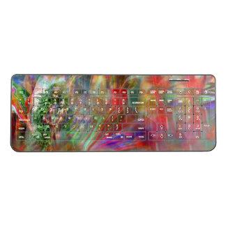 Graffiti Madonna Wireless Keyboard