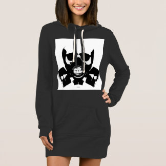 Graffiti mask American Apparel Hoodie Dress