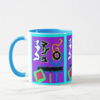 Graffiti ~ Modern Art ~  Modern colourful vibrant Mug