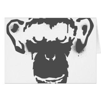 Graffiti Monkey Card