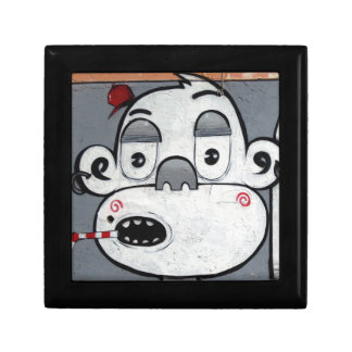Graffiti Monkey Keepsake Box