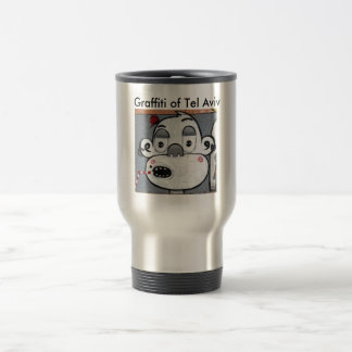 Graffiti Monkey Travel Mug