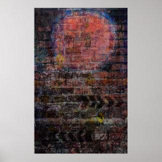 """""""Graffiti Moon"""" Print"""