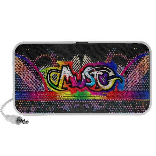 Graffiti Music Mini Speaker