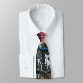 Graffiti Necktie