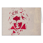Graffiti OF Beethoven Card