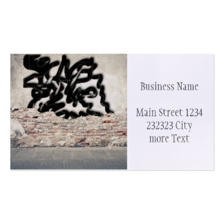 graffiti pack of standard business cards